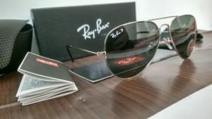 عینک آفتابی ری بن با شیشه یویی400و آنتی رفلکس-تصویر 3