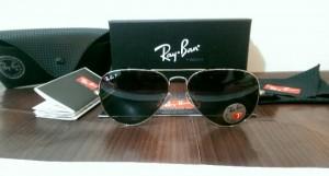 عینک آفتابی ری بن با شیشه یویی400و آنتی رفلکس-تصویر 5