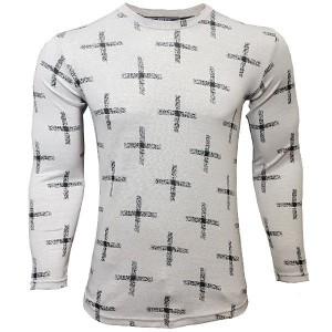 تی شرت مردانه آستین بلند پلاس تمام کش
