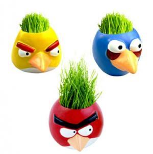 سبزه عید طرح Angry Birds