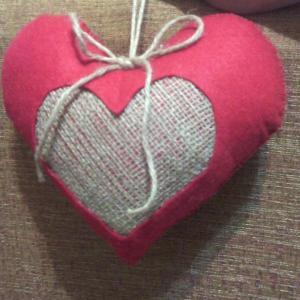 آویز قلب تزیینی