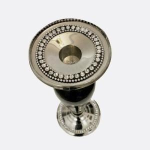 یک جفت شمعدان کاردست هند-تصویر 3