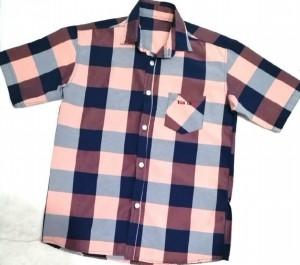 پیراهن پسرانه چهارخونه