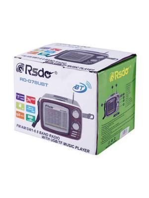 اسپیکر و رادیو ار اس دی مدل RSD RD-078UBT-تصویر 4