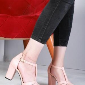 کفش پاشنه دار مجلسی مدل خرچنگی-تصویر 5