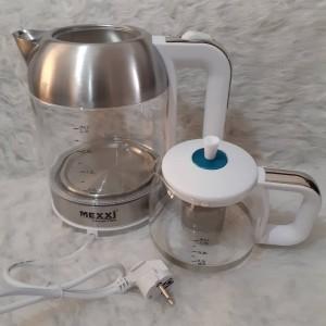 چایی ساز رو همی مکسی شیشه ای مدل TM-001G-تصویر 2