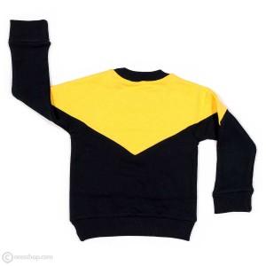 بلوز تک پسرانه زرد سرمهای-تصویر 2