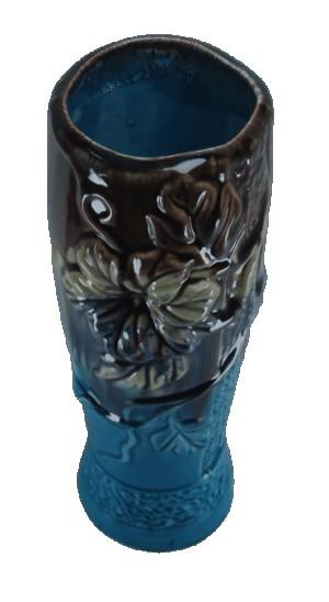 گلدان سرامیکی طرح کیهانی مدل برجسته-تصویر 2