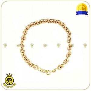 دستبند طلا زنجیری-تصویر 2