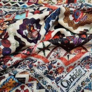 روسری نخی امانوئل ارکیده 118-34-تصویر 4