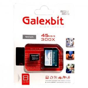 مموری میکرو Galexbit 300X U1 45MB/S 8GB-تصویر 2