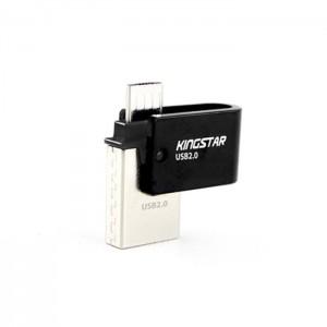 فلش مموری کینگ استار KingStar S20 OTG 32GB