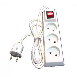 رابط برق 3 خانه کلید دار-تصویر 2