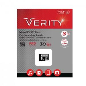 مموری میکرو Verity Class10 30MB/S 8GB-تصویر 2