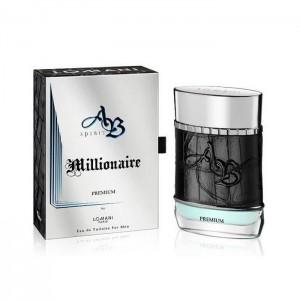 ادو تویلت مردانه لومانی مدل AB Spirit Millionaire Premium حجم 100 میلی لیتر-تصویر 2