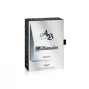 ادو تویلت مردانه لومانی مدل AB Spirit Millionaire Premium حجم 100 میلی لیتر-تصویر 3