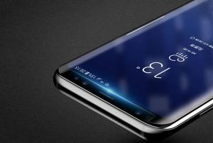 محافظ صفحه نمایش شیشه ای با قابلیت UV مدل سامسونگ S9 Plus