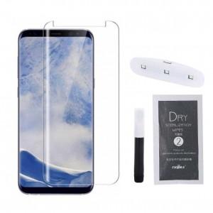 محافظ صفحه نمایش شیشه ای با قابلیت UV مدل سامسونگ S9 Plus-تصویر 2