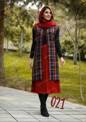 سارافن و دامن پشمی-تصویر 3