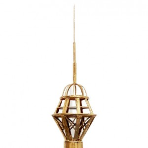 ماکت برج میلاد سازه چوب کبریت-تصویر 4