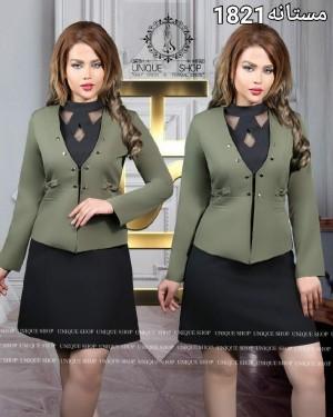 دو تکه کت و سارافون مستانه-تصویر 5