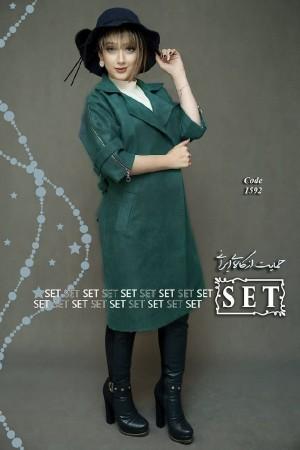 مانتو زمستانی مدل هدیه-تصویر 5