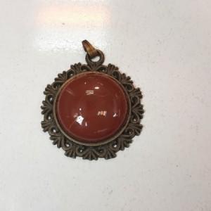 گردنبند و آویز عقیق قرمز، ولنتاین m330-تصویر 3