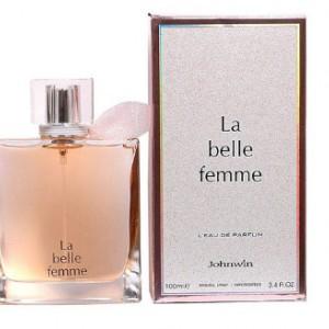 عطر ادکلن ادوپرفیوم زنانه جانوین لانکوم لاویست-johnwin La belle Femme-تصویر 2
