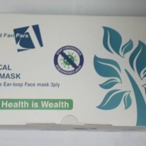 ماسک سه لایه ملت بلون دار آروند (بسته 50 تایی)-تصویر 4