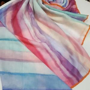 روسری نخی پاییزه برند خان خانم-تصویر 2