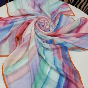 روسری نخی پاییزه برند خان خانم-تصویر 3