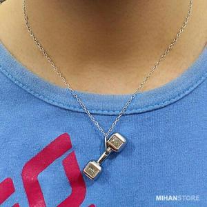 گردنبند لاکچری طرح دمبل-تصویر 3