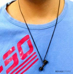 گردنبند لاکچری طرح دمبل-تصویر 4
