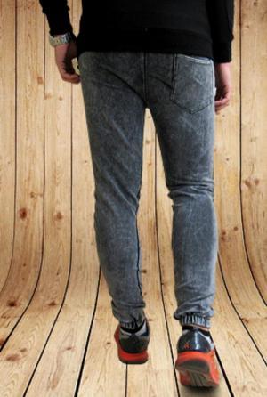 شلوار اسلش طرح جین Adidas-تصویر 3