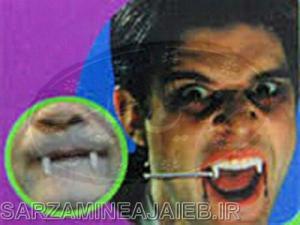 ابزار شوخی دندان شب نما خون اشام-تصویر 2
