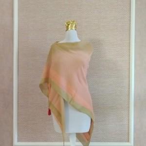 روسری نخی منگوله دار ابرنگی