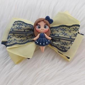 گیره مو دخترانه مدل عروسکی کد hclp170-تصویر 4