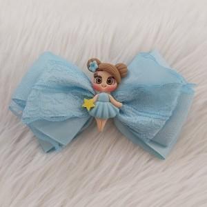 گیره مو دخترانه مدل عروسکی کد hclp170