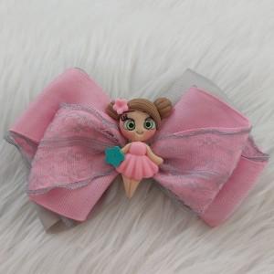 گیره مو دخترانه مدل عروسکی کد hclp170-تصویر 2