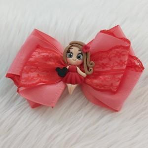 گیره مو دخترانه مدل عروسکی کد hclp170-تصویر 5