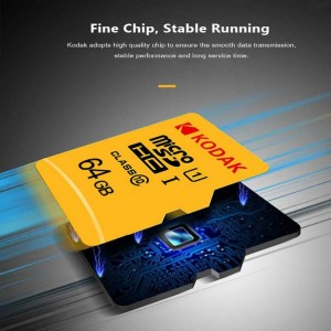 کارت حافظه microSD کداک کلاس 10 استاندارد UHS-I U1 سرعت 85MBps-تصویر 3