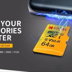 کارت حافظه microSD کداک کلاس 10 استاندارد UHS-I U1 سرعت 85MBps-تصویر 4