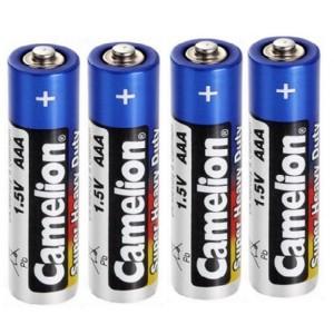 باتری نیم قلمی کملیون مدل Super Heavy Duty بسته ۴ عددی