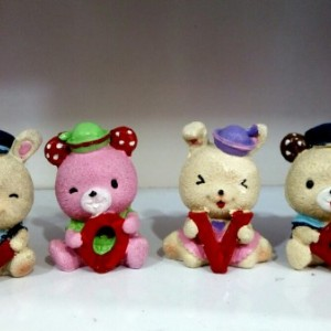 خرس های ۴ عددی طرح love