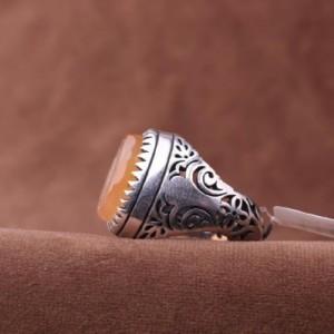 انگشتر عقیق یمنی-تصویر 3