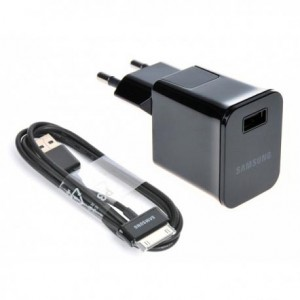 شارژر اصلی تبلت سامسونگ همراه کابل Samsung Tablet Charger