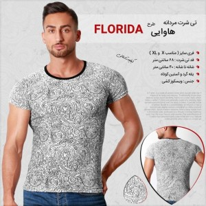 تی شرت مردانه هاوایی طرح Florida-تصویر 3