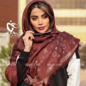 روسری هفت رنگ اورجینال طرح لویی