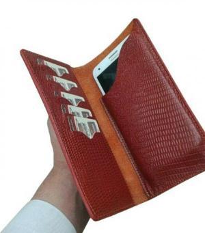 کیف پول و موبایل چرم-تصویر 3