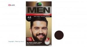 کیت رنگ مو مردانه قهوه ای گپ سری Men Perfect شماره 4.0 حجم 50 میلی لیتر-تصویر 2